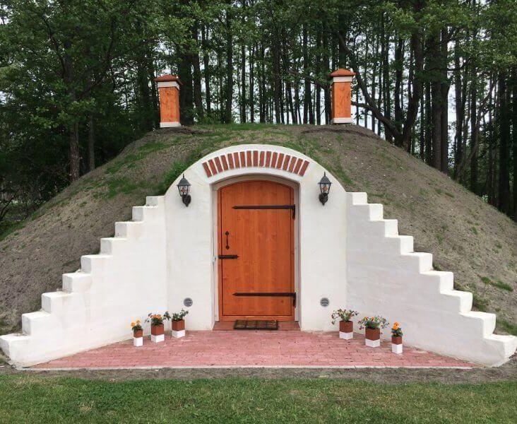 Erdkeller im Landkreis Pärnu